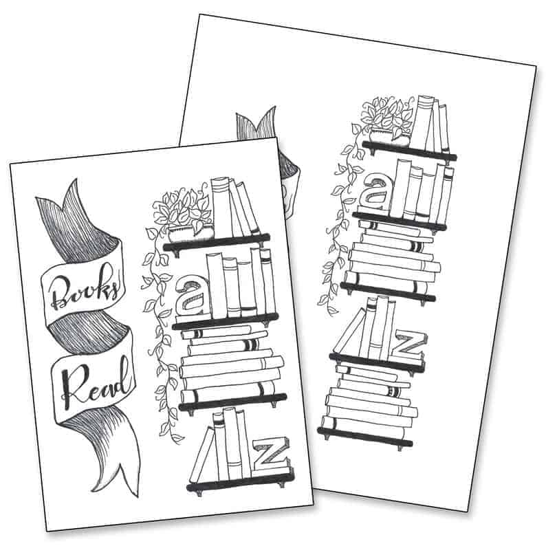 Books Read Tracker Printable