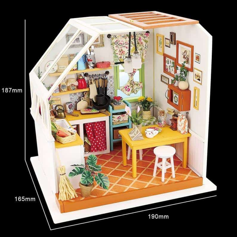 Kitchen Miniature dollhouse kit