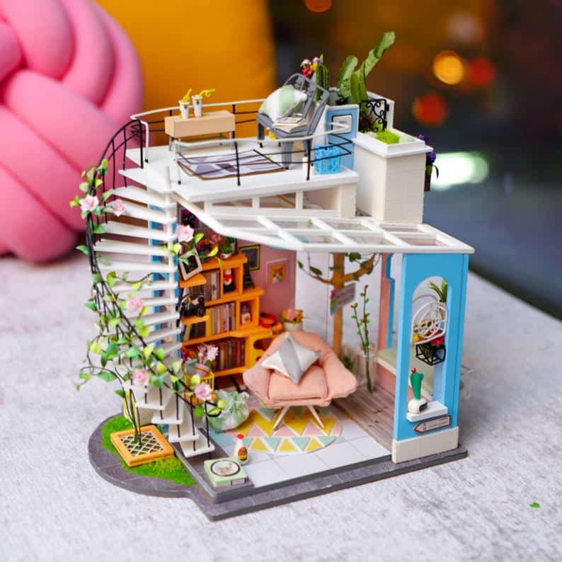 Dora's Loft: DIY Miniature Loft Patio Kit