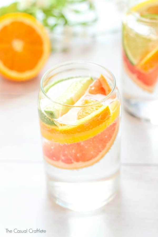 Sparkling Citrus Coconut Water