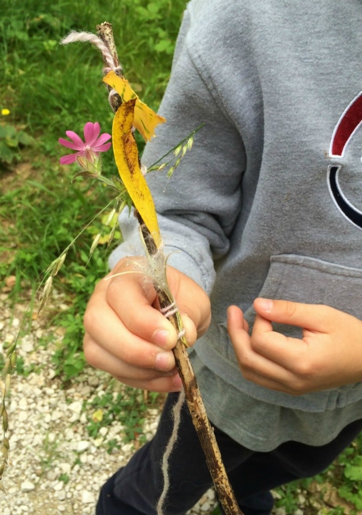 Nature Craft Journey Sticks