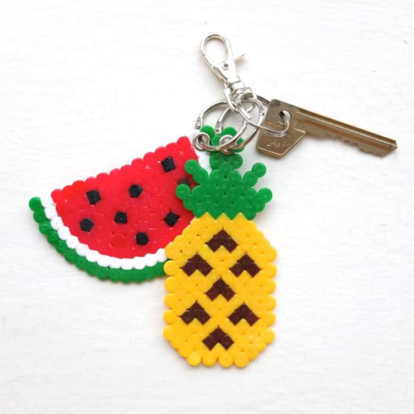 Fun Fruit Keyrings