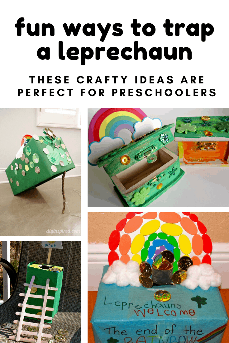 Here's a fun STEM based activity for St Patrick's Day - because what child doesn't want to trap a leprechaun and see their stash of gold? #stem #kidcrafts