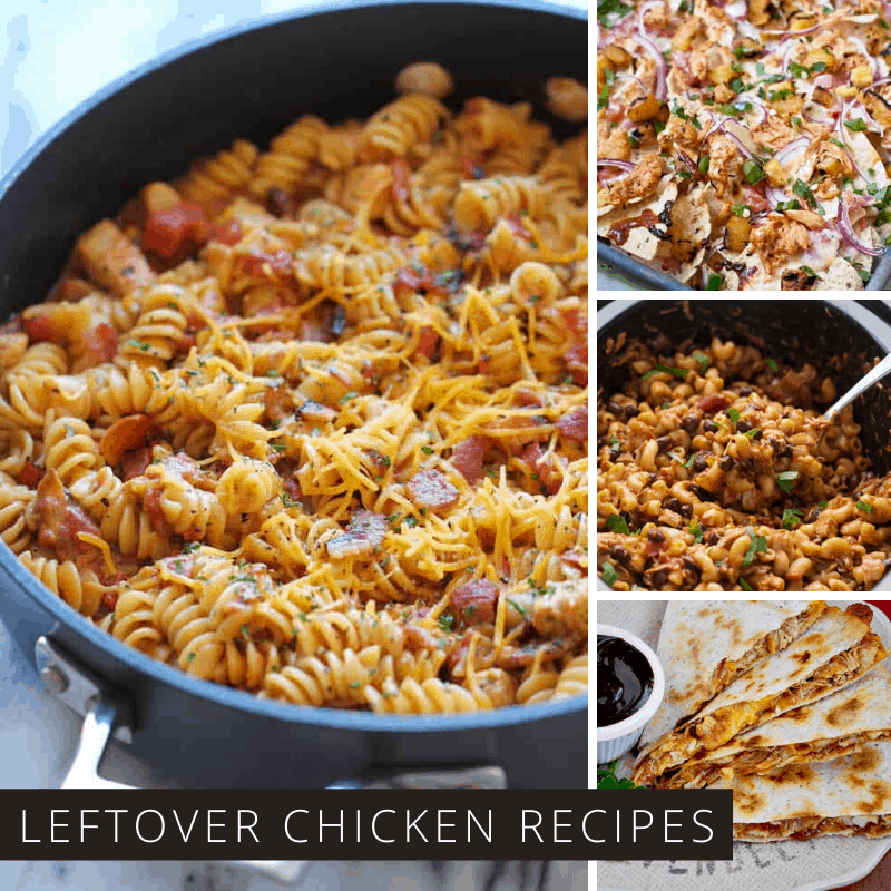 10 Recipes That Will Change the Way You Look at Leftover BBQ Chicken!