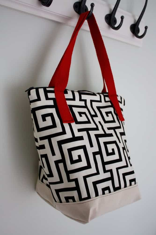 Make an insulated tote bag
