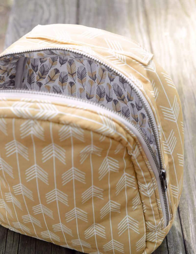 Make your own zipper lunch bag