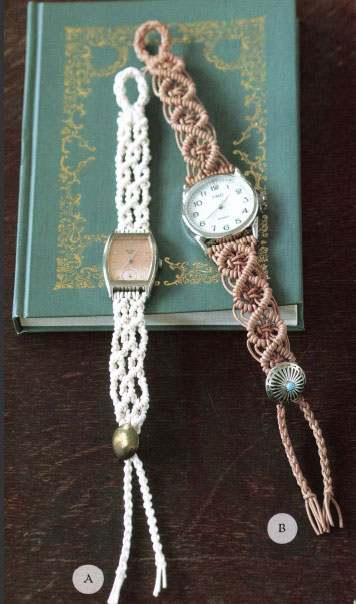 Make Your Own DIY Macramé Watchband