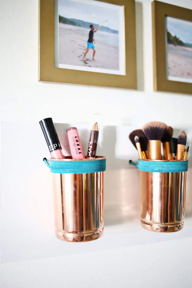Make your friends jealous with these gorgeous copper organisers