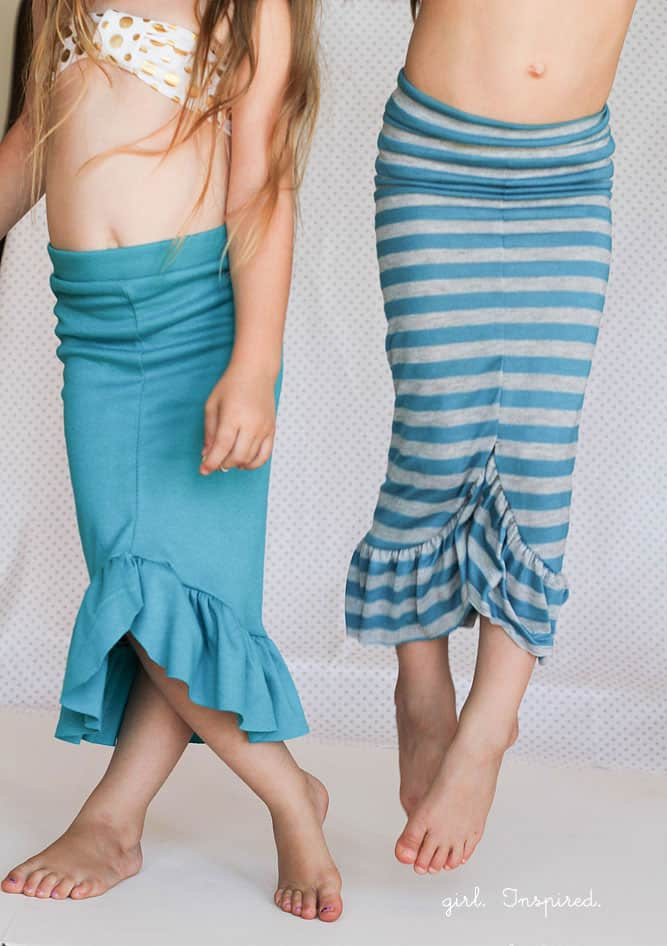 30 Minute Mermaid Skirt Tutorial