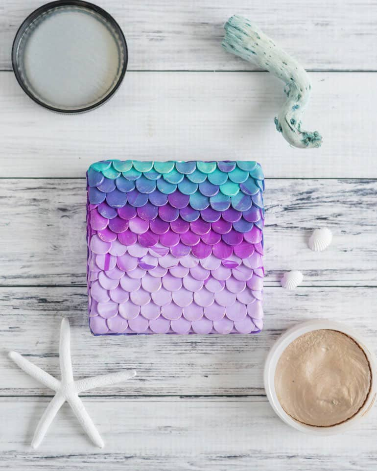 37 Fabulous DIY Mermaid Crafts To Make You Feel Like You