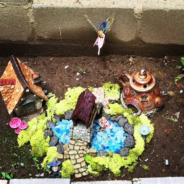Whimsical Mermaid Garden