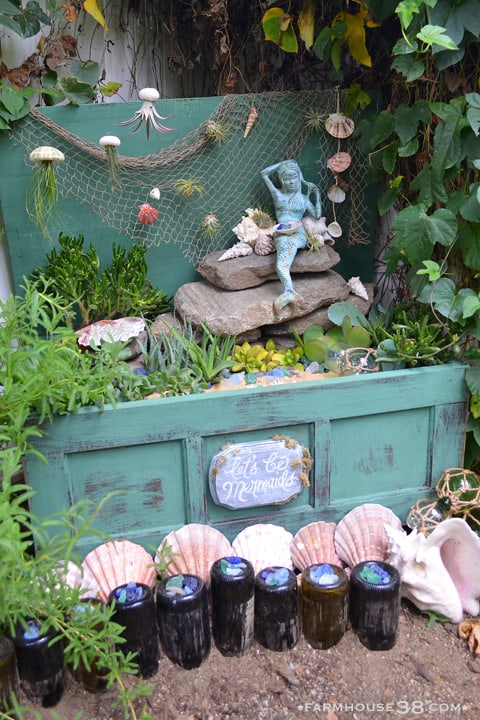 Mermaid Garden Chest