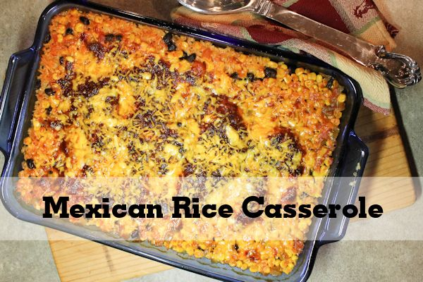 Mexican Rice Chicken Casserole