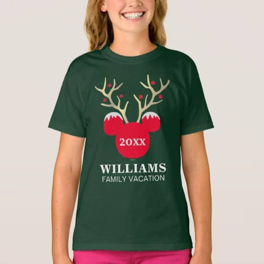 You can buy theMickey Christmas Family Vacation Tshirt here