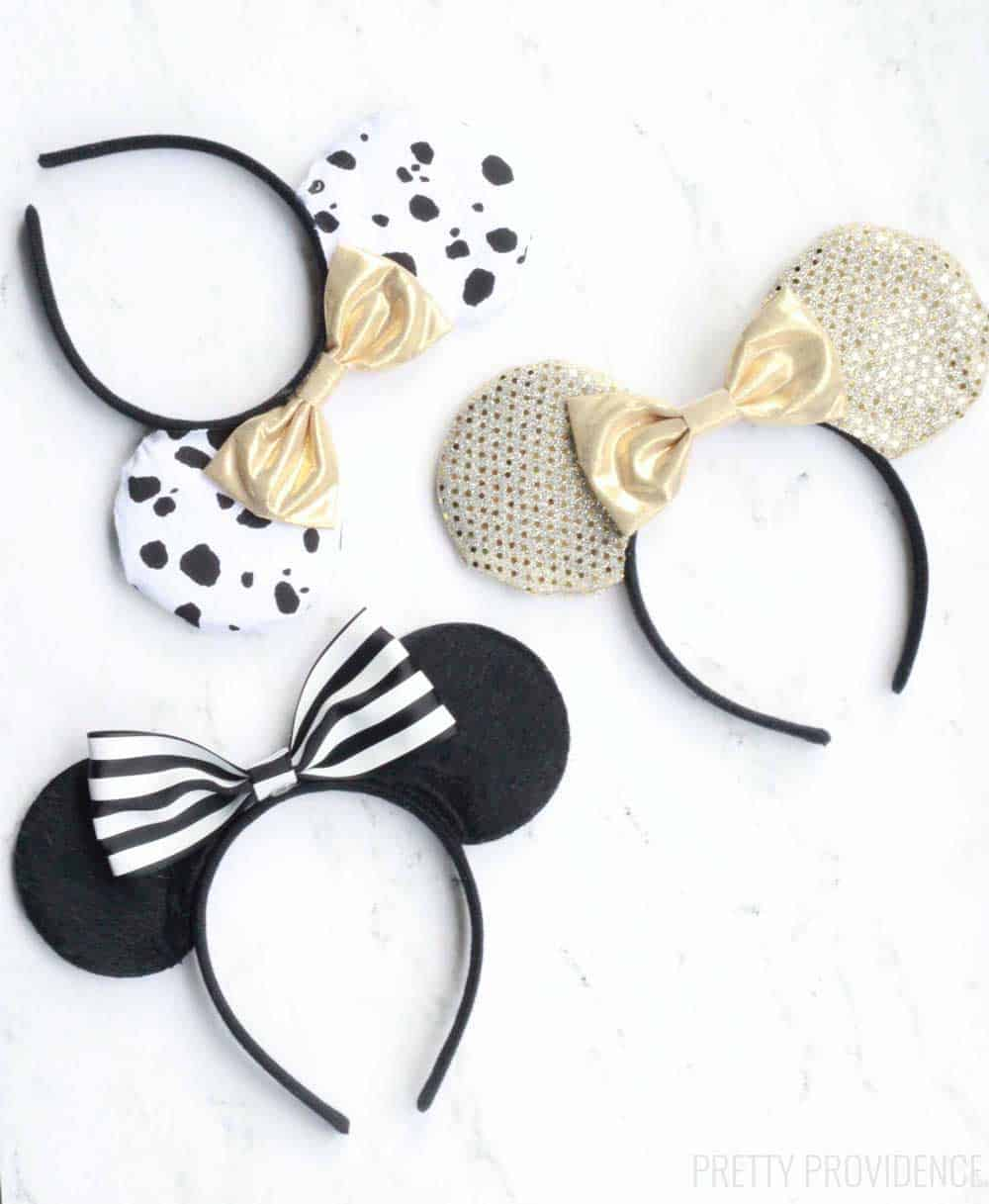 DIY No Sew Disney Ears