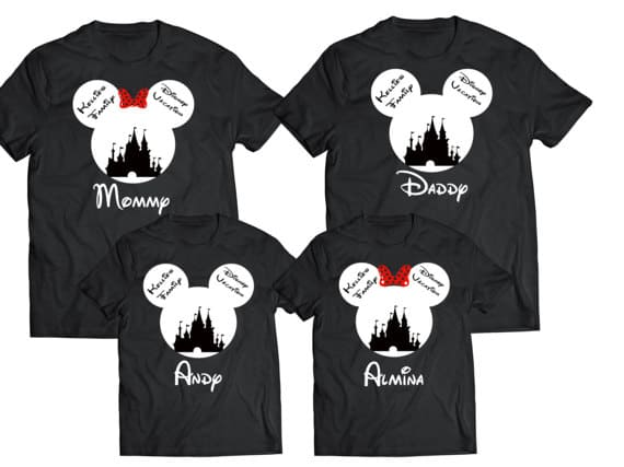 You can buy theDisney Family Shirts for Disney Trips and Cruises here