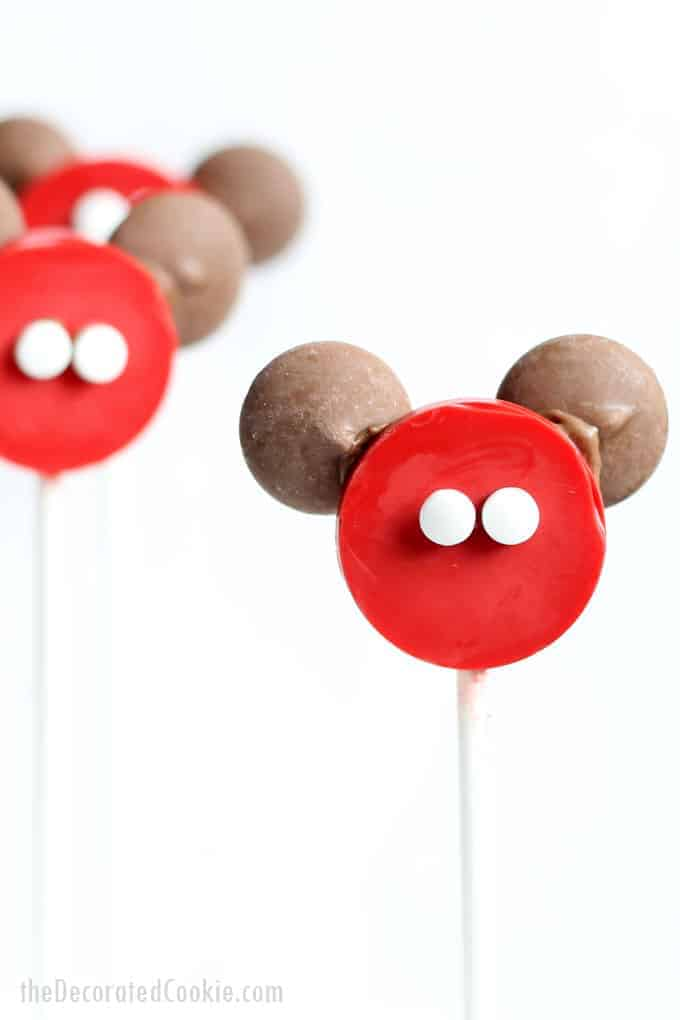 Mickey Mouse Candy Pops