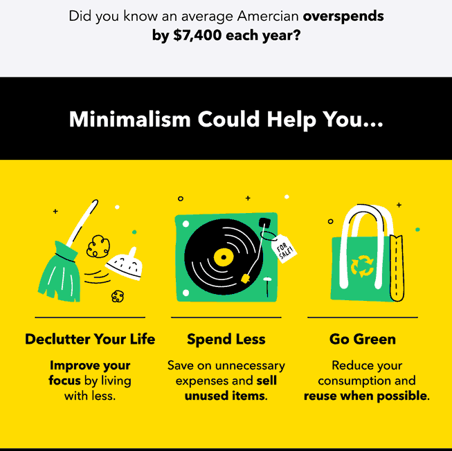 The benefits of living a minimalist lifestyle