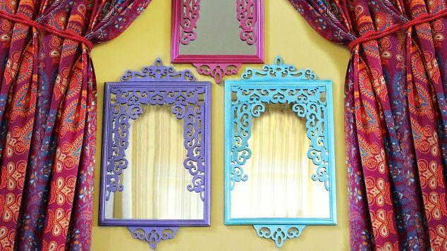 Make a Moroccan style mirror