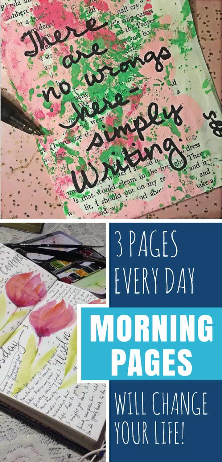 morning pages will change your life