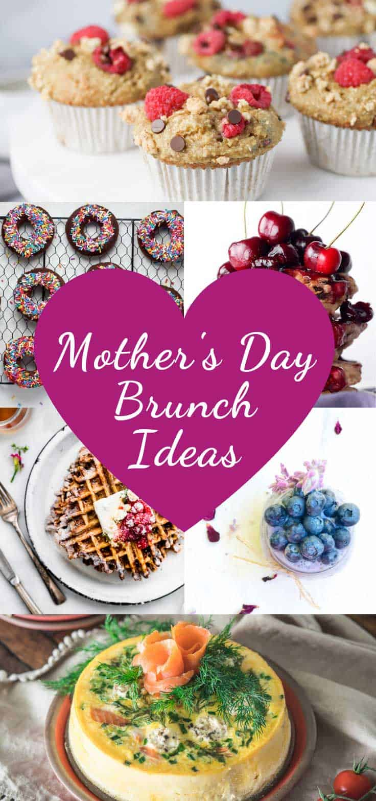 If your mom is on a gluten free diet don't worry that she will miss out because in today's collection we've rounded up the most delicious gluten free brunch recipes that are just perfect for Mother's Day.