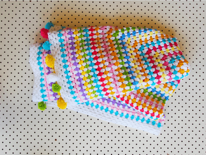 Oblong Story Granny Rectangle Blanket