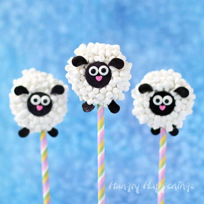 Oreo Lamb Lollipops
