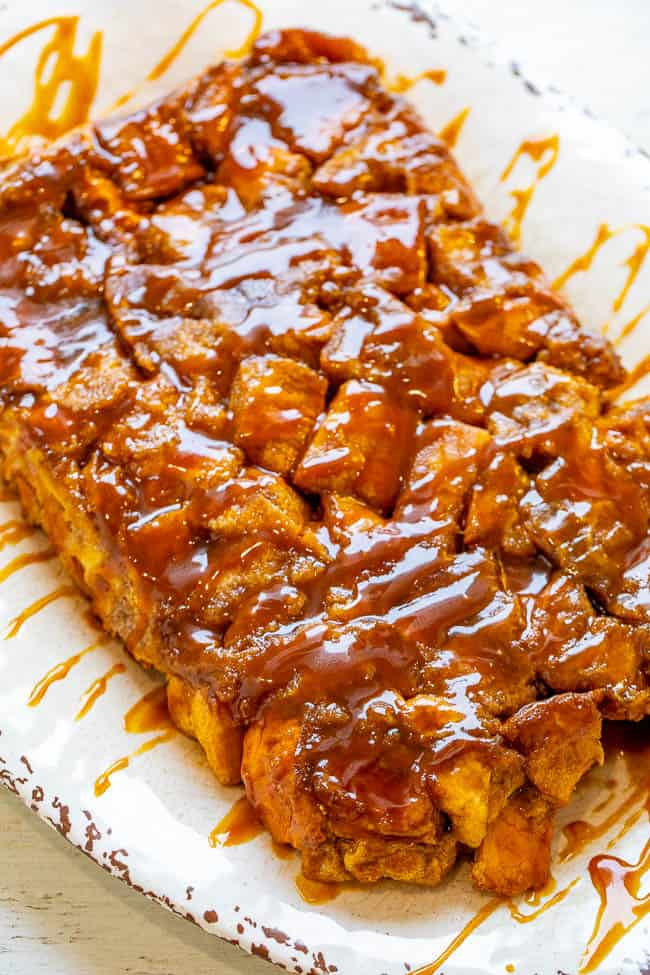 Overnight Caramel French Toast Casserole