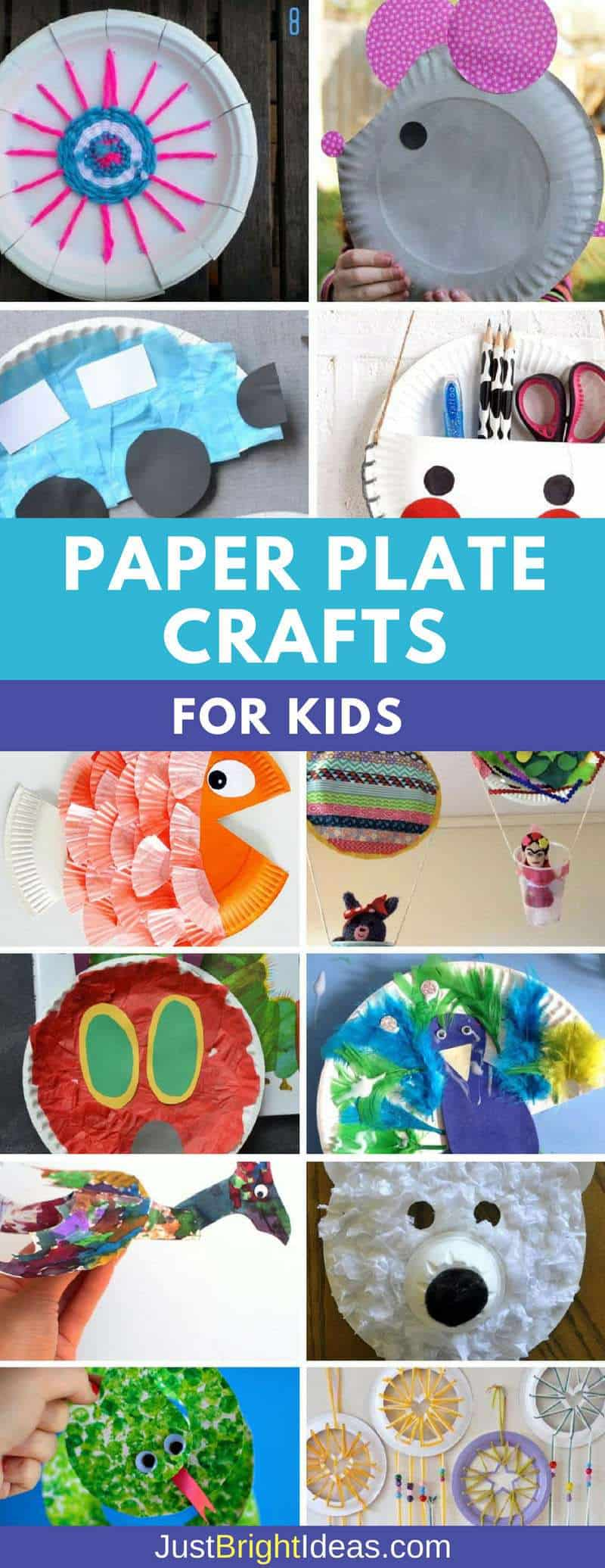 12 super easy paper plate crafts for kids of all ages to for Fun crafts for all ages