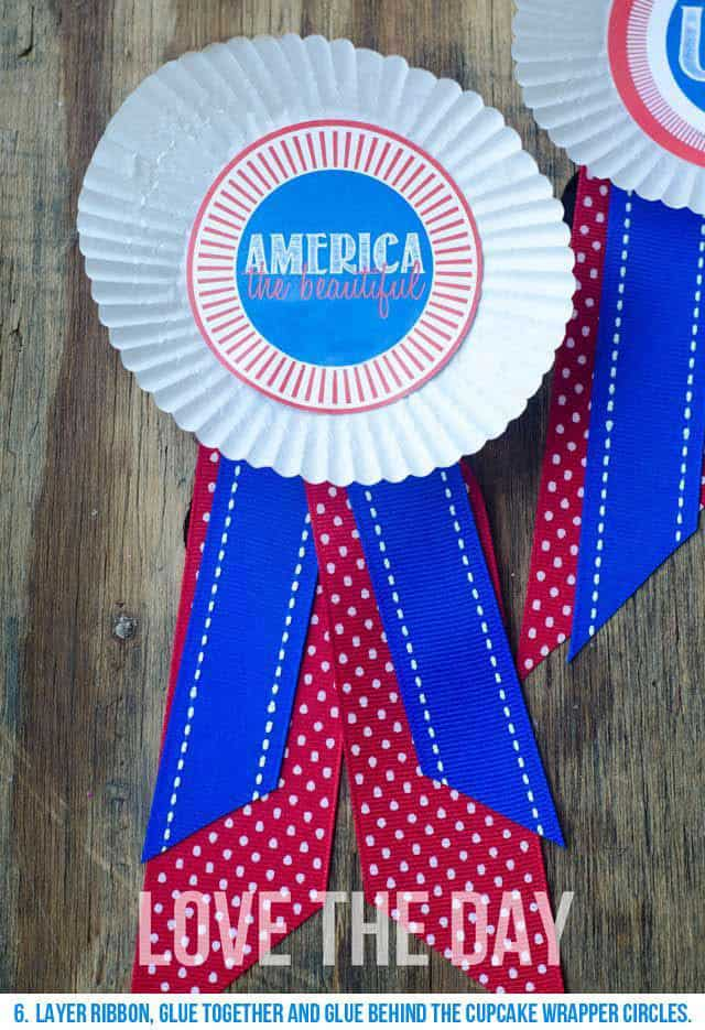 Patriotic Medallion Ribbon