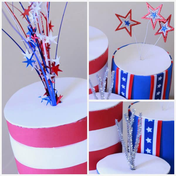 Fourth of July Crafts Made from Recyclables