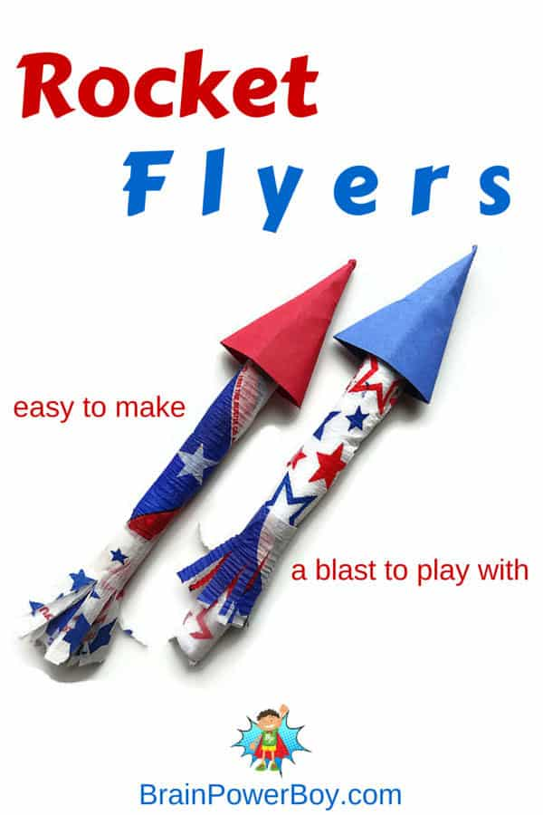 Make a Super Fun Rocket Flyer