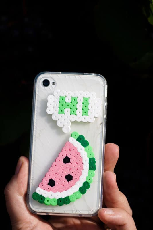 Perler Beads Phone Cover