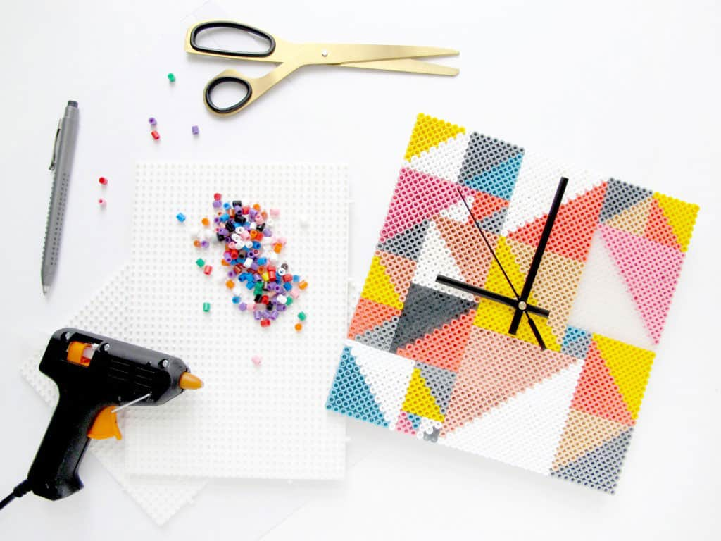 DIY Peler Bead Clock