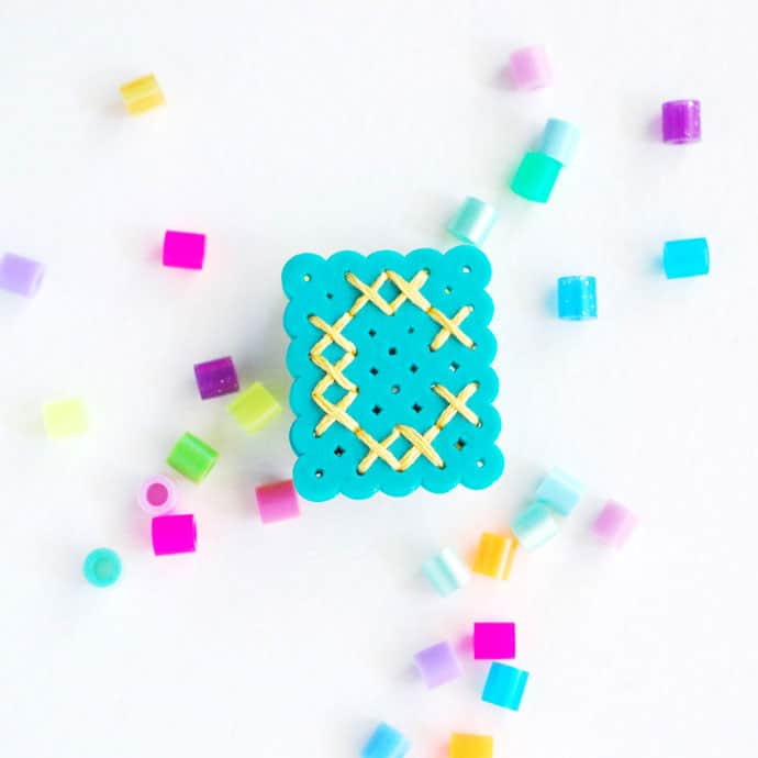 How to Make Perler Bead Monograms