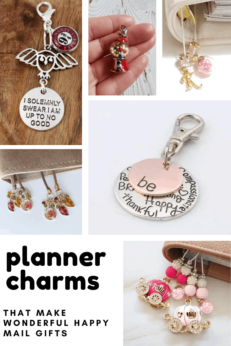 Loving these planner charms! You can never have too many accessories for your planner - and they're perfect for Happy mail!