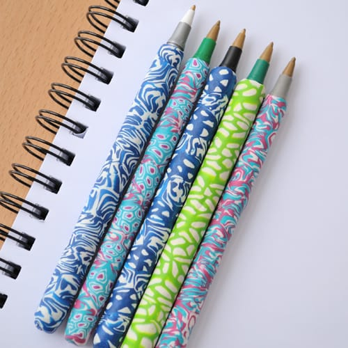 How to Make Polymer Clay Covered Pens