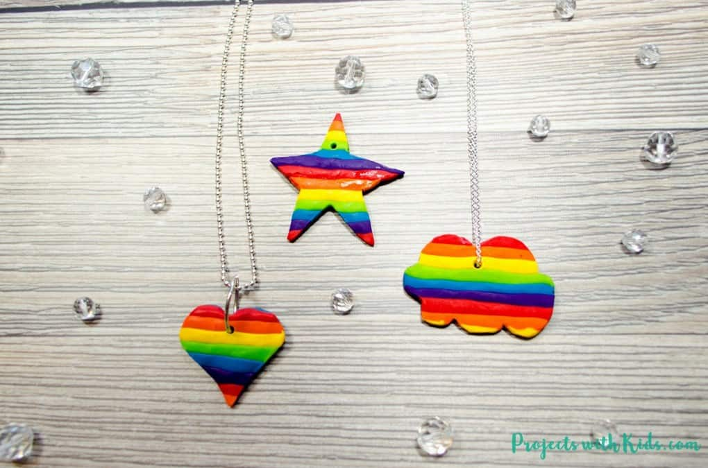 Make Beautiful Rainbow Jewellery for Kids