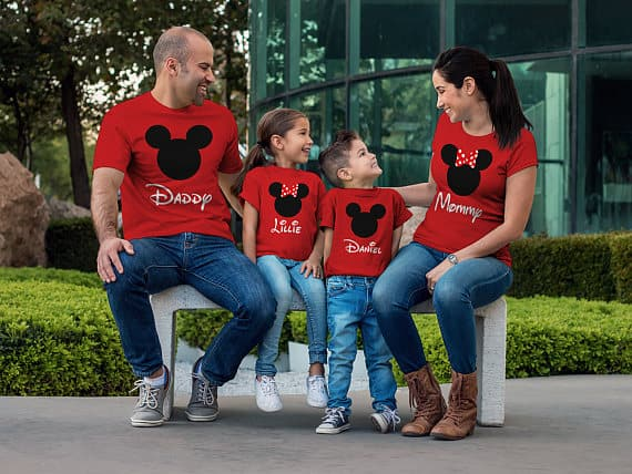 You can buy the Red Family Matching Shirts here