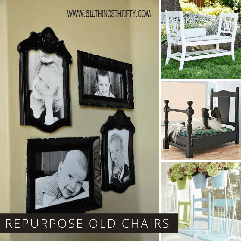 25 Genius Ways to Repurpose Old Wooden Chairs You're Sure to Love