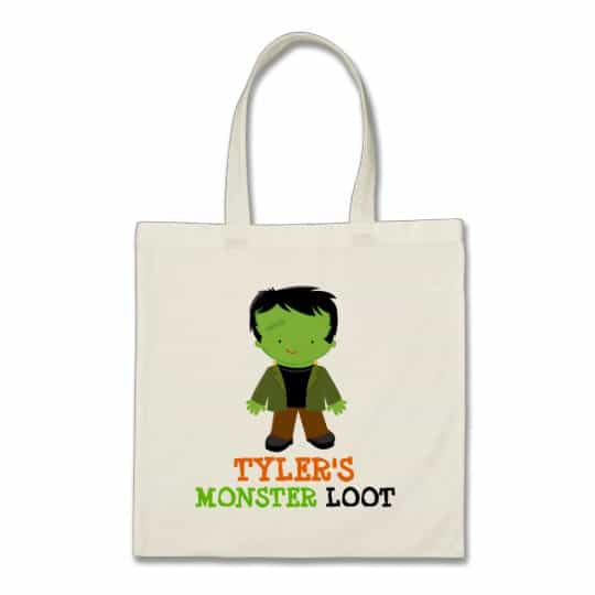 You can buy the Personalized Halloween Candy Bag here