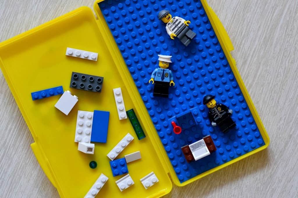 DIY Travel LEGO Playset