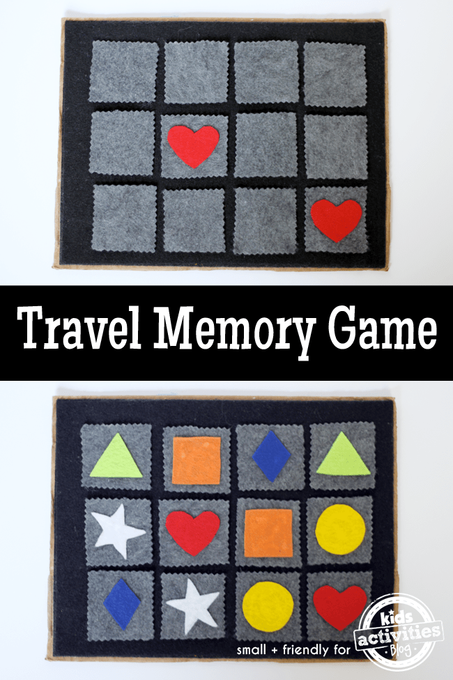 DIY Travel Memory Game
