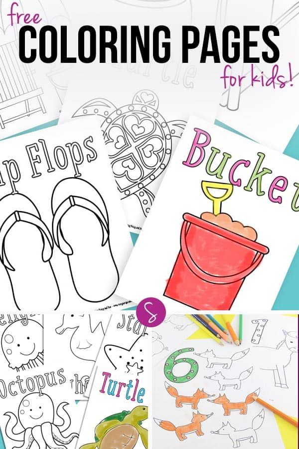 Free Coloring Pages for Kids to Color When They're Bored!