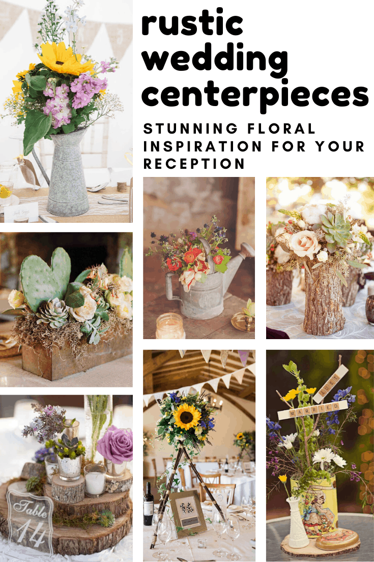 12 Simple Rustic Wedding Centerpieces You've Got to See!