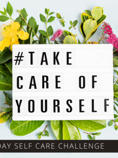 Boost your mental health with our 31 day self care challenge