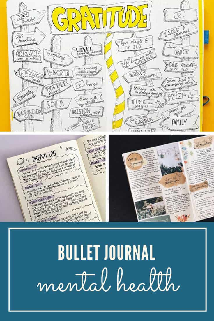self care ideas for your Bullet Journal