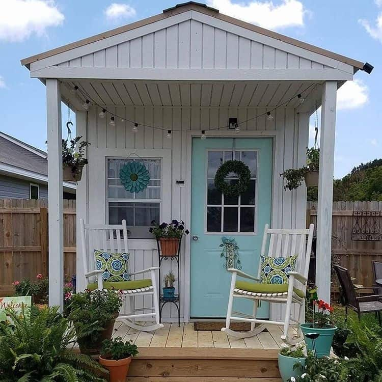 Add a front porch