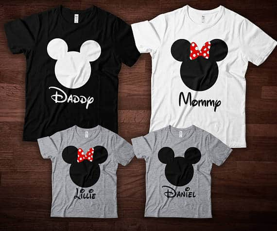 You can buy theDisney Family Shirts here