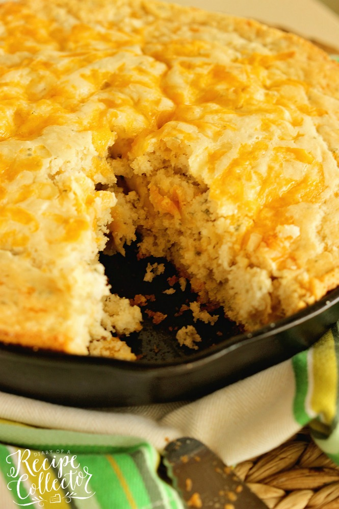 Beer & Cheese Skillet Bread
